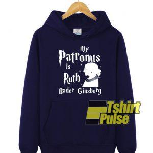 Bader Ginsburg hooded sweatshirt clothing unisex hoodie