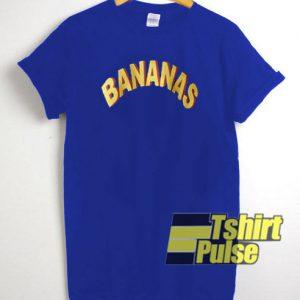 Bananas t-shirt for men and women tshirt
