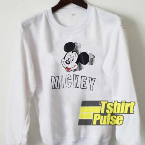Big Mickey Mouse Head sweatshirt