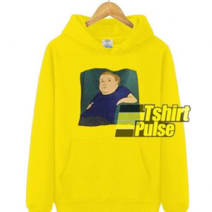 Bobby Hill hooded sweatshirt clothing unisex
