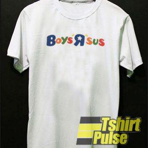 Boys R sus t-shirt for men and women tshirt