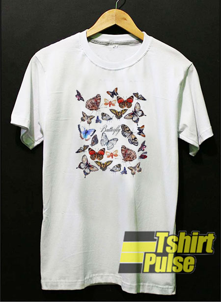 Butterfly t-shirt for men and women tshirt