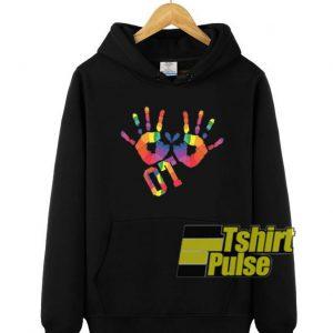 Colorful OT hooded sweatshirt clothing unisex hoodie