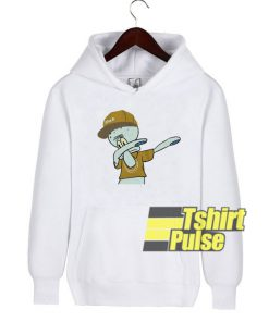 Dabbin Squidward hooded sweatshirt clothing unisex hoodie