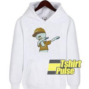 Dabbin Squidward hooded sweatshirt clothing unisex hoodie