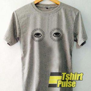 Eyeballs t-shirt for men and women tshirt