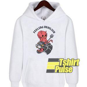Feeling Devilish hooded sweatshirt clothing unisex hoodie