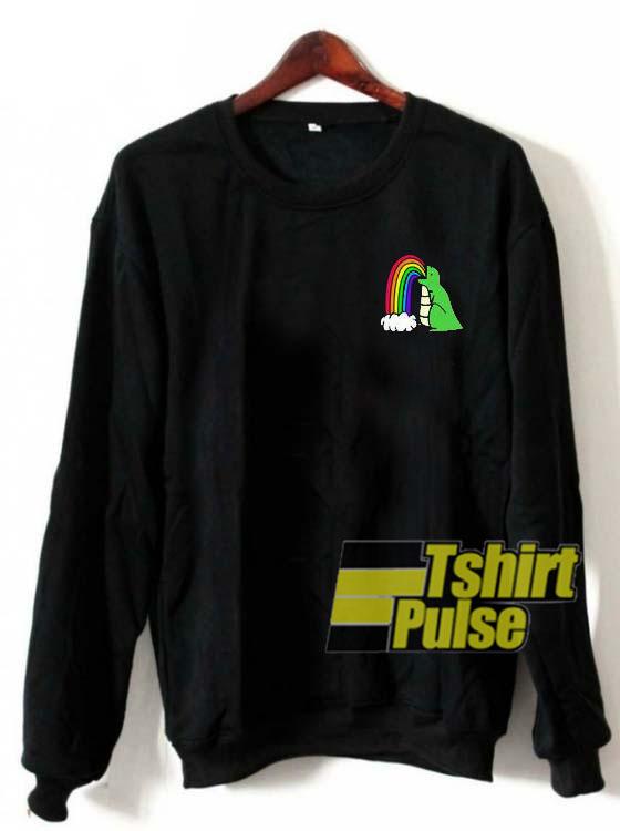 Gay Dinosaur Logo sweatshirt