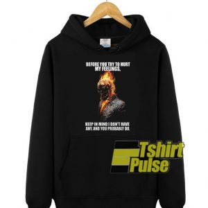 Ghost Rider hooded sweatshirt clothing unisex hoodie
