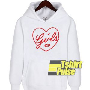 Girls Heart hooded sweatshirt clothing unisex hoodie