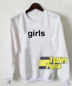 Girls Style sweatshirt