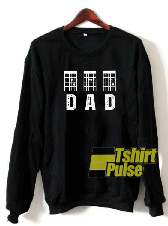 Guitar DAD sweatshirt