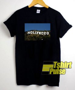 Hollyweed t-shirt for men and women tshirt