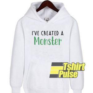 I've created a monster hooded sweatshirt clothing unisex hoodie