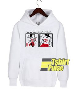 I'm Not Scary Soft Like Tofu hooded sweatshirt clothing unisex