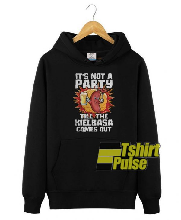 It's Not A Party hooded sweatshirt clothing unisex hoodie
