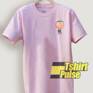 Japanese Peach t-shirt for men and women tshirt