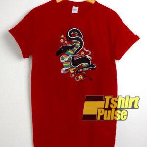 Japanese Snake t-shirt for men and women tshirt