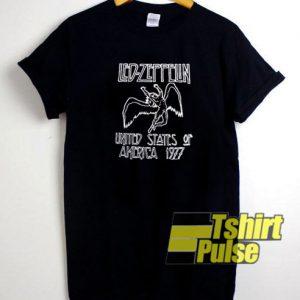 Led Zeppelin 1977 t-shirt for men and women tshirt
