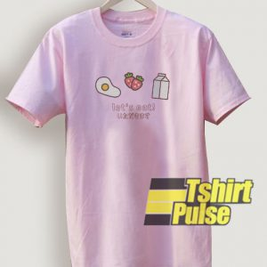 Let's Eat Japanese t-shirt for men and women tshirt
