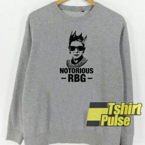 Notorious RBG sweatshirt