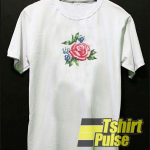 Pink Rose t-shirt for men and women tshirt