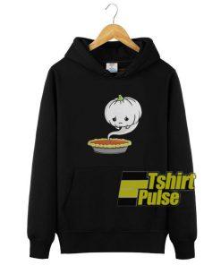 Pumpkin Pie Ghost hooded sweatshirt clothing unisex
