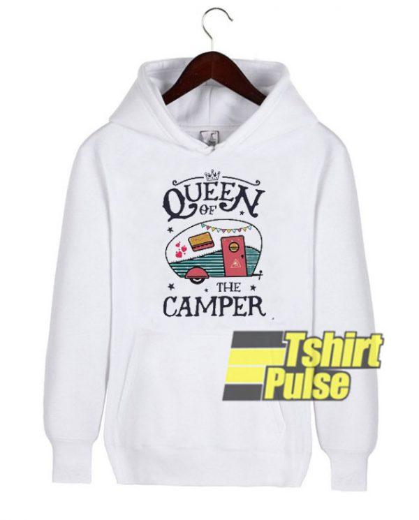 Queen of the Camper hooded sweatshirt clothing unisex