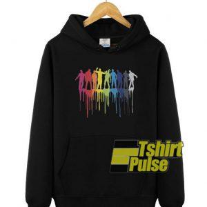 Rainbow Zombie hooded sweatshirt clothing unisex hoodie