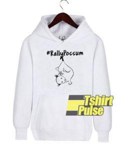 Rally Possum hooded sweatshirt clothing unisex