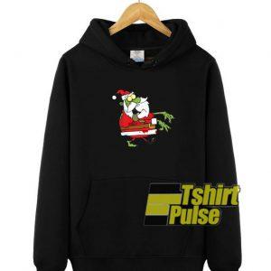 Santa Claus Zombie hooded sweatshirt clothing unisex hoodie