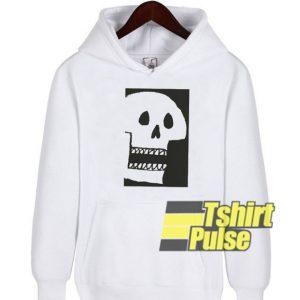 Skull Print hooded sweatshirt clothing unisex hoodie