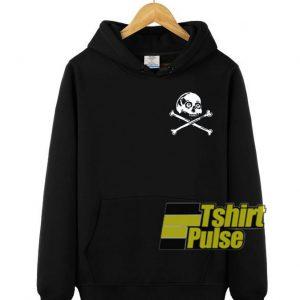 Skulls Crossbones hooded sweatshirt clothing unisex hoodie