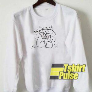 Snow Monkeys sweatshirt