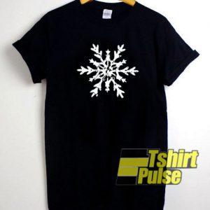 Snowflake t-shirt for men and women tshirt