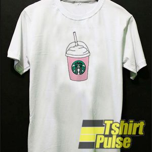 Starbucks Pink t-shirt for men and women tshirt