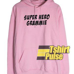 Super Hero Grammie hooded sweatshirt clothing unisex hoodie