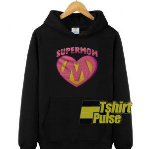 Supermom hooded sweatshirt clothing unisex hoodie