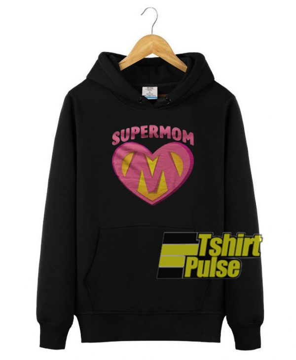 Supermom hooded sweatshirt clothing unisex
