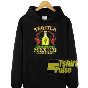 Tequila hooded sweatshirt clothing unisex hoodie