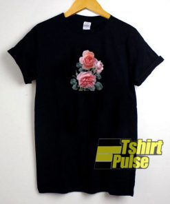 Three Pink Roses t-shirt for men and women tshirt
