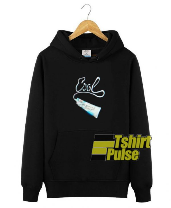 Toothpaste hooded sweatshirt clothing unisex hoodie