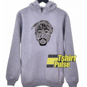 Tupac 2 Pac All Eyez On Me hooded sweatshirt clothing unisex hoodie