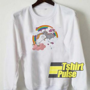 Unicorn Jumper Printed sweatshirt