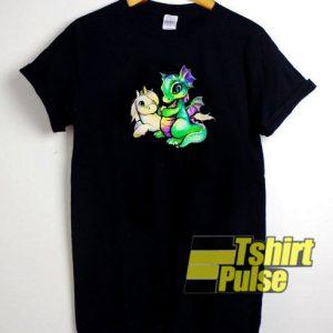 Unicorn and Dragon t-shirt for men and women tshirt