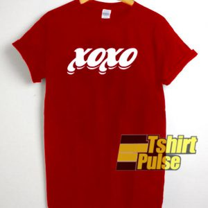 Xoxo Valentine Days t-shirt for men and women tshirt