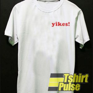 Yikes! Pocket t-shirt for men and women tshirt