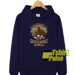 amateur mycologist hooded sweatshirt clothing unisex hoodie