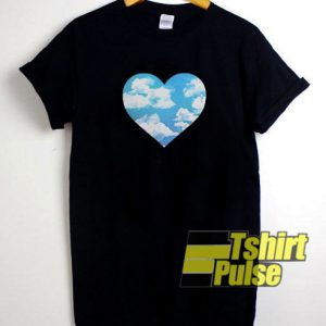 cloud love t-shirt for men and women tshirt