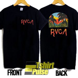 rvca t-shirt for men and women tshirt